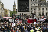 Anti austerity protests on the day of the Queens Speech and opening of Parliament. Trafalgar Square. London. - Jess Hurd - against,anti,Austerity Cuts,Protest,Demonstration,2015,2010s