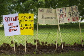 Surround Yarls Wood, End Detention. Set Her Free. Protest outside Yarls Wood Immigration Detention Centre against women in detention. Bedfordshire. - Jess Hurd - 2010s,2015,activist,activists,against,anti,Anti Racism,anti racist,asylum,Asylum Seeker,Asylum Seeker,bigotry,CAMPAIGN,campaigner,campaigners,CAMPAIGNING,CAMPAIGNS,center,DEMONSTRATING,Demonstration,D