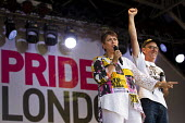 Sian James, Mike Jackson Lesbians and Gays Support The Miners Pride in London Parade 2015 - Jess Hurd - 27-06-2015