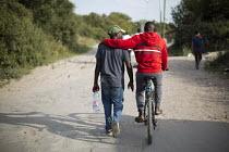 Migrants Calais refugee camp The Jungle. France. - Jess Hurd - 05-08-2015