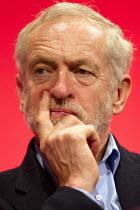 Jeremy Corbyn, leader. Labour Party Conference, Brighton. - Jess Hurd - 28-09-2015