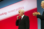 Jeremy Corbyn, leader with John McDonnell MP. Labour Party Conference, Brighton. - Jess Hurd - 28-09-2015