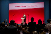 Jeremy Corbyn speaking at Labour Party Conference, Brighton. - Jess Hurd - 29-09-2015