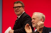 Jeremy Corbyn and Tom Watson Labour Party Conference Brighton. - Jess Hurd - 30-09-2015