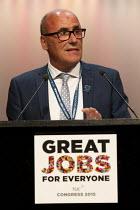 Alan Grey, Prospect speaking at TUC conference Brighton. - Jess Hurd - 13-09-2015
