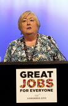 Denise McGuire, Prospect speaking TUC conference Brighton. - Jess Hurd - 13-09-2015
