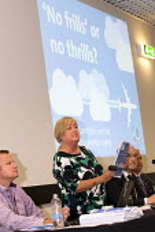 Denise McGuire, Prospect speaking No Frills or no Thrills fringe meeting, Prospect. TUC conference Brighton. - Jess Hurd - 14-09-2015
