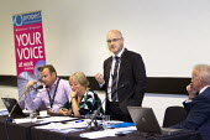 No Frills or no Thrills fringe meeting, Prospect. TUC conference Brighton. - Jess Hurd - 14-09-2015