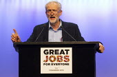 Jeremy Corbyn MP, newly elected Leader of the Labour Party speaking TUC conference, Brighton. - Jess Hurd - 15-09-2015