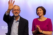 Jeremy Corbyn MP, newly elected Leader of the Labour Party addresses TUC conference, Brighton. - Jess Hurd - 15-09-2015