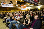 Rise up against TTIP rally, Conway Hall. Organised by Friends of the Earth, Global Justice Now & War on Want. London. - Jess Hurd - 10-10-2015
