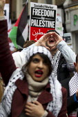 Palestine Solidarity Campaign Protest For Palestine, Israeli Embassy London - Jess Hurd - 17-10-2015