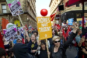 Homes not Trident, TUC march against austerity cuts and unfair Trade Union Bill, Conservative Party Conference, Manchester. - Jess Hurd - 04-10-2015