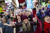 TUC march against austerity cuts and unfair Trade Union Bill, Conservative Party Conference, Manchester. - Jess Hurd - 04-10-2015