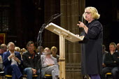 The People's Post CWU rally Manchester Cathedral during Conservative Party Conference. - Jess Hurd - 05-10-2015