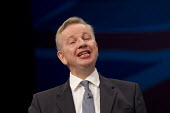 Michael Gove MP speaking at Conservative Party Conference, Manchester. - Jess Hurd - 06-10-2015
