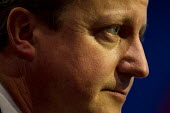 David Cameron listening to Boris Johnson MP speaking at Conservative Party Conference, Manchester. - Jess Hurd - 06-10-2015