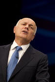 Iain Duncan Smith speaking at Conservative Party Conference, Manchester. - Jess Hurd - ,2010s,2015,Conference,conferences,Iain Duncan Smith,Party,POL,political,POLITICIAN,POLITICIANS,Politics,SPEAKER,SPEAKERS,speaking,SPEECH