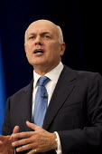 Iain Duncan Smith speaking at Conservative Party Conference, Manchester. - Jess Hurd - 06-10-2015