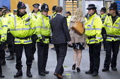 Police and security at Conservative Party Conference, Manchester. - Jess Hurd - 2010s,2015,adult,adults,CLJ,conference,conferences,CONSERVATIVE,Conservative Party,conservatives,delegate,delegates,FEMALE,force,MATURE,Officer,officers,Party,people,person,persons,Police,policeman,po