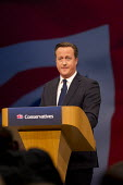 David Cameron speaking at Conservative Party Conference, Manchester. - Jess Hurd - 07-10-2015