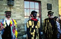 Morris Dancers, Whittlesey Straw Bear Man festivalCambridgeshire - James Jenkins - 11-01-2003