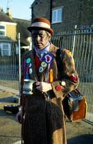 Morris Dancers, Whittlesey Straw Bear Man festival Cambridgeshire - James Jenkins - 11-01-2003
