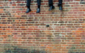 Eton Wall Game, College Field, Eton College, Eton. - James Jenkins - 22-11-2003