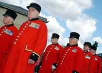 Chelsea Pensioners, Woolwich Arsenal, London, UK - James Jenkins - 13-09-2003