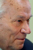 Lieutenant General Mikhail T Kalashnikov, designer of the AK-47 machine gun - James Jenkins - 01-09-2004