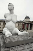 Alison Lapper Pregnant, by Marc Quinn, 4th Plinth, Trafalgar Square, London. - James Jenkins - 07-06-2007