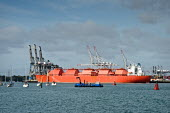 The Margaret Hill LNG tanker, Southampton Docks - Paul Carter - 26-10-2009