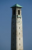 Southampton's Civic Centre clock tower. - Paul Carter - 01-12-1998