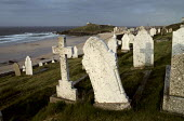 Graveyard next to the sea. North Cornwall. - Paul Carter - 01-06-1988