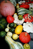Market stall display of colourful fruit and vegetables. - Paul Carter - 23-09-2001