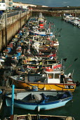Small fishing boats docked in the safety of Brigton marina. - Paul Carter - 10-07-2003