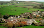 Looking over a small rural community. Dorset. - Paul Carter - 09-01-2004
