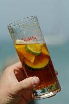 A glass of Pimms. - Paul Carter - 27-07-2004