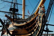 Figurehead on HMS Victory, Portsmouth. - Paul Carter - 13-06-2003