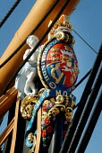 Figurehead on HMS Victory, Portsmouth. - Paul Carter - 13-06-2003