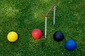 Croquet balls and hoop. - Paul Carter - 10-06-2005