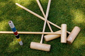Croquet mallets. - Paul Carter - 10-06-2005
