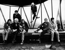 Glasgow punks in 1978. - John Sturrock - 06-09-1978