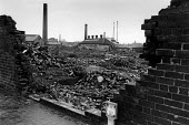 Industrial wasteland in Walsall, during the recession in the 1980s. - John Sturrock - 14-10-1981