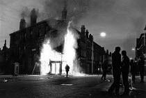 Toxteth Riots, in Liverpool. - John Sturrock - 06-07-1981
