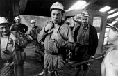 Mineworkers at Cotgrave Colliery. Nottinghamshire - John Sturrock - 01-10-1992