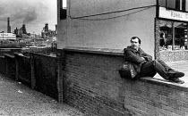 Ravenscraig Steelworks, Scotland - John Sturrock - 1980s,1983,British Steel,BSC,capitalism,capitalist,cities,city,DOWNTURN,EARNINGS,EBF Economy,economic,Economic Crisis,employee,employees,Employment,environmental degradation,EQUALITY,factories,factory