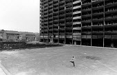 New and old housing in Everton, in September 1985. - John Sturrock - 10-09-1985