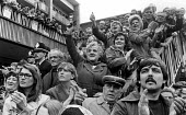 Crowds in the centre of Coventry to greeting The Peoples March for Jobs 1983 - John Sturrock - 20-05-1981
