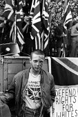 National Front Rally, Fulham, London 1982 - John Sturrock - (NF),1980s,1982,activist,activists,against,bigotry,CAMPAIGN,campaigner,campaigners,CAMPAIGNING,CAMPAIGNS,cities,city,DEMONSTRATING,demonstration,DEMONSTRATIONS,DISCRIMINATION,equal,equality,face,FACES